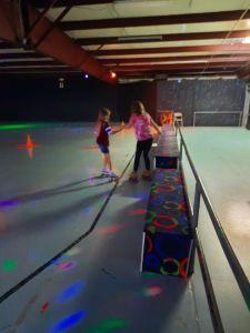 youth at revolutions skating rink